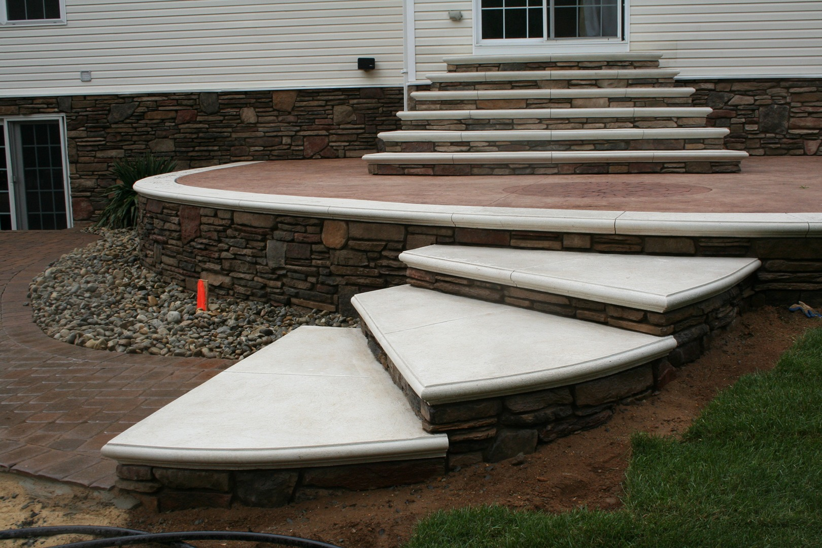 Patio & Steps - Gallery