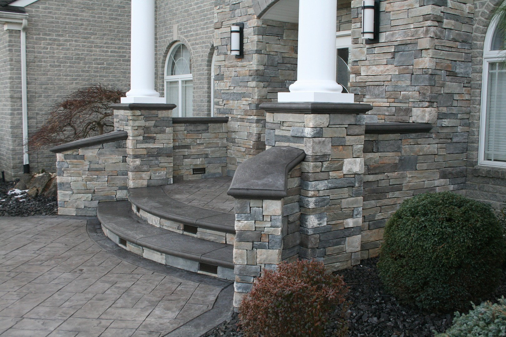 Stone Entrance - Gallery