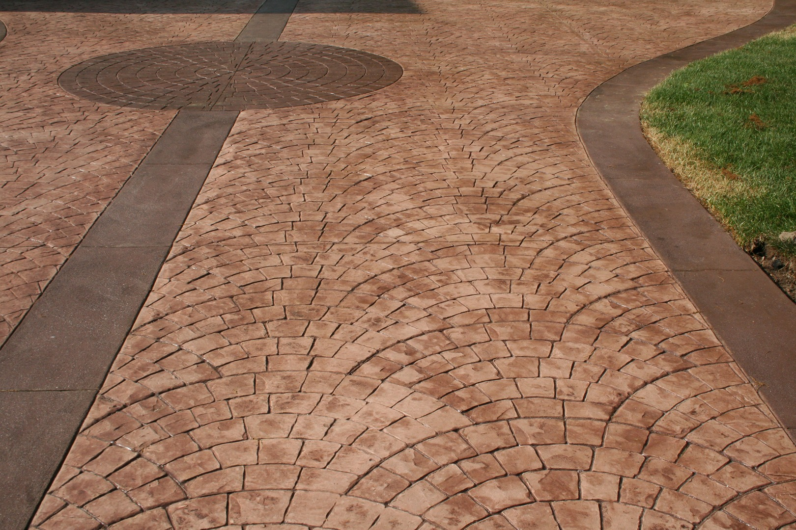 Stamped Concrete Driveway - Gallery